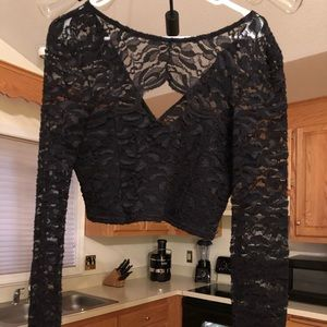 ASOS Lace Top Size 10